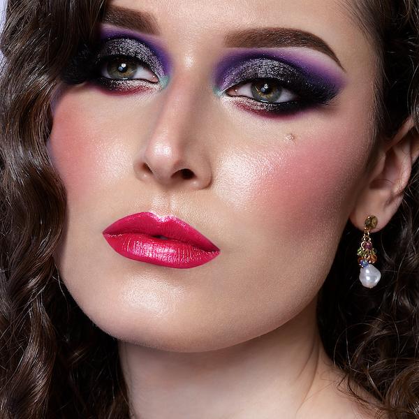 Makeup Look Tutorial di Cristina Raimondi per Defa Cosmetici naturali vegan bio